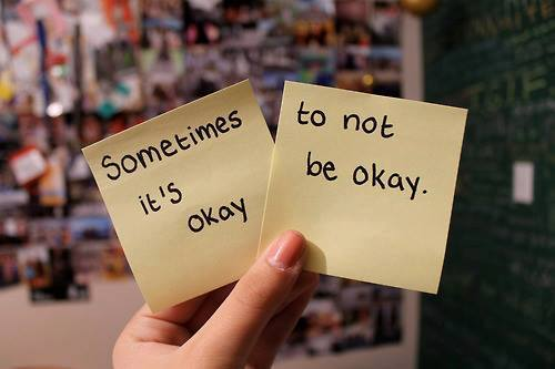 sometimes its OK