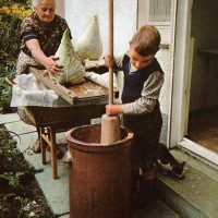 sauerkraut-making1969